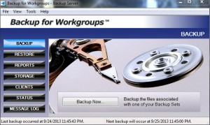 backup for workgroups